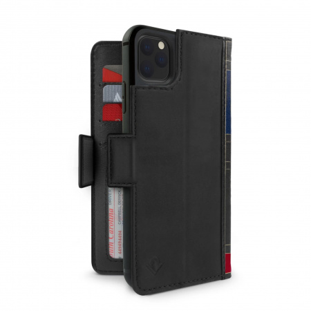 TwelveSouth BookBook Premium Leather Vol 2 for iPhone 11 Pro - Black
