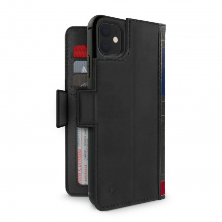 TwelveSouth BookBook Premium Leather Vol 2 for iPhone 11 - Black