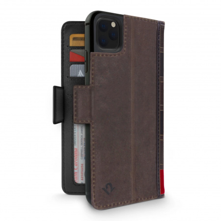 TwelveSouth BookBook Premium Leather Vol 2 for iPhone 11 Pro Max - Brown