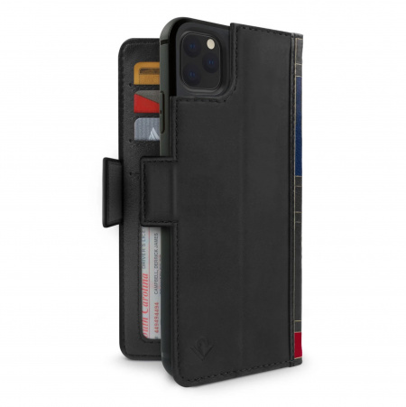 TwelveSouth BookBook Premium Leather Vol 2 for iPhone 11 Pro Max - Black