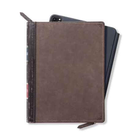 TwelveSouth BookBook Genuine Leather Cover Vol. 2 for iPad Pro 12.9 (2020) - Brown