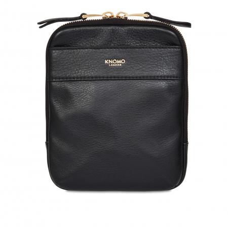 Knomo REXCross Body Full Grain Leather - BLACK (Female)