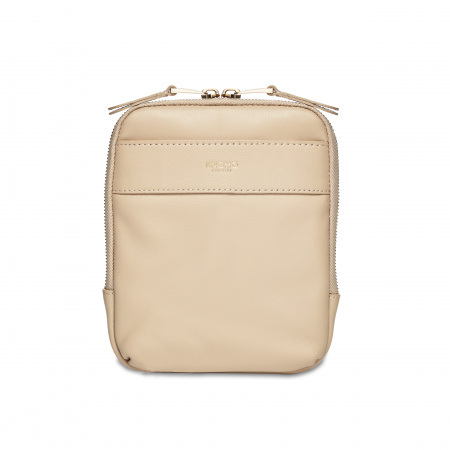 Knomo REXCross Body Full Grain Leather - TRENCH BEIGE (Female)