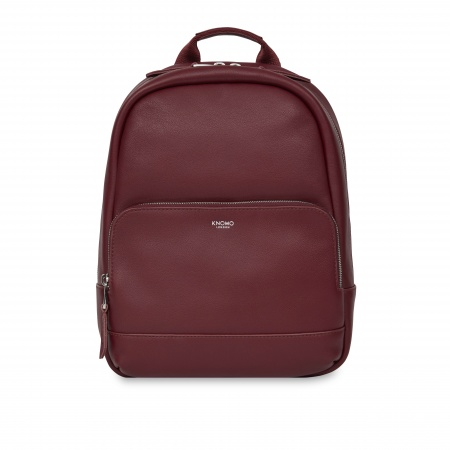 Knomo MINI MOUNT Leather Backpack 10inch - Burgundy