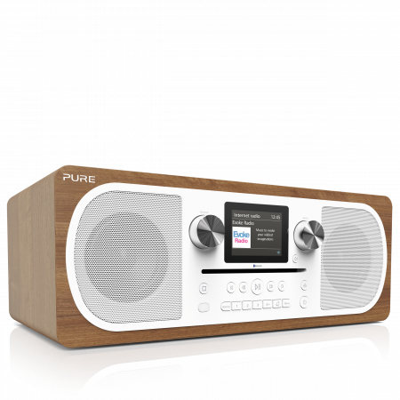 Pure Evoke C-F6 All-in-one Stereo DAB+ radio with internet radio and Spotify Connect