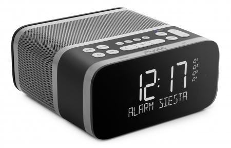 Pure Siesta S6 Bedside DAB+ radio with Bluetooth - Graphite