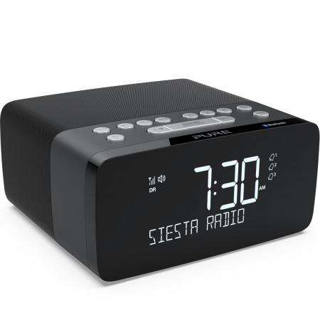 Pure Siesta Charge DAB+ radio with Bluetooth - Graphite