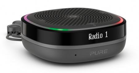 Pure StreamR Splash Waterproof Smart Radio - Charcoal