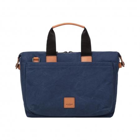 Knomo BLAKE Slim Briefcase 14inch - Navy