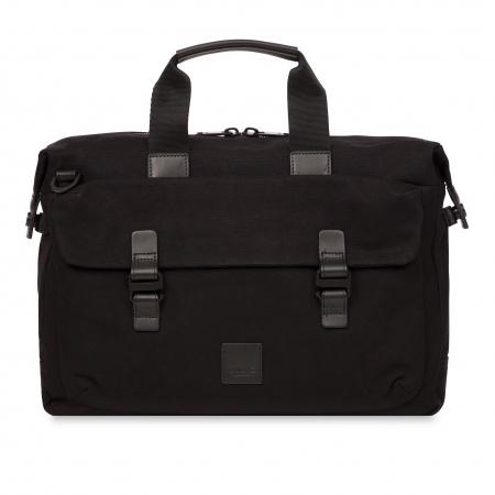 Knomo TOURNAY Topload Briefcase 15inch - Black