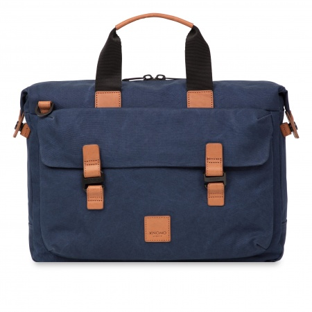 Knomo TOURNAY Topload Briefcase 15inch - Navy