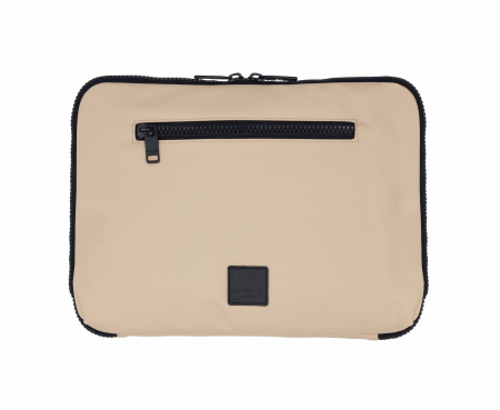 Knomo Fulham KNOMAD Everyday Organiser 13-inch w X Body Nylon w Semi Veg Trim - TRENCH BEIGE (Male)