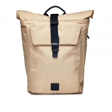 Knomo NOVELLO Backpack 15-inch Nylon w Semi Veg Trim - TRENCH BEIGE (Male)