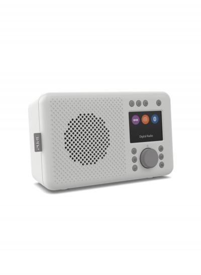 Pure Elan DAB+ portable DAB+ radio with Bluetooth - Stone Grey
