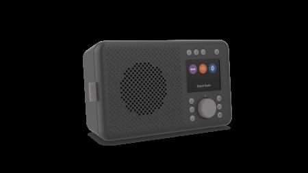 Pure Elan DAB+ portable DAB+ radio with Bluetooth - Charcoal