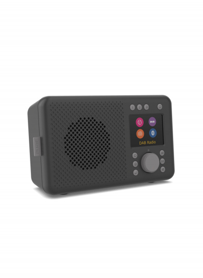 Pure Elan Connect Internet radio with DAB+ and Bluetooth - Charcoal