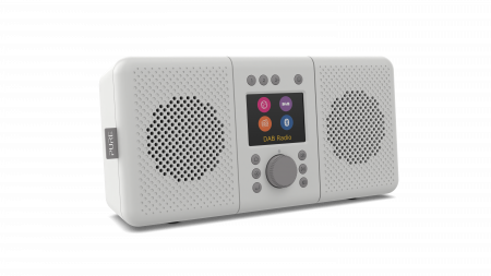 Pure Elan Connect+ Stereo Internet radio with DAB+ and Bluetooth - Stone Grey
