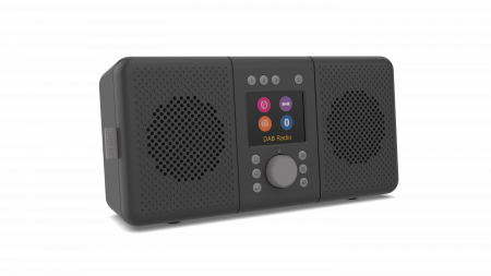 Pure Elan Connect+ Stereo Internet radio with DAB+ and Bluetooth - Charcoal