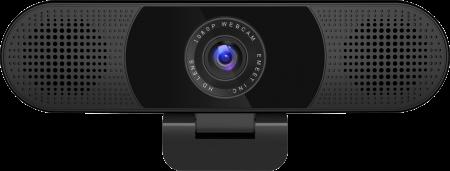 eMeet C980 Pro HD Webcam Full HD 1080P + 2 Speaker + 4 Mics - Black