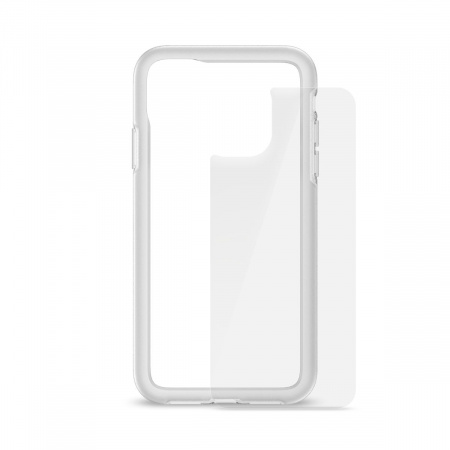 Artwizz Bumper + SecondBack for iPhone 11 - clear
