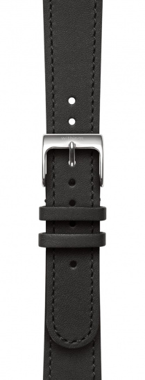 Withings Accessory Wristband for Steel HR 36mm, Move, Move ECG, Scanwatch 38mm - Black Leather