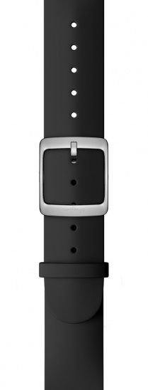 Withings Accessory Wristband for Steel HR 36mm, Move, Move ECG, Scanwatch 38mm - Black