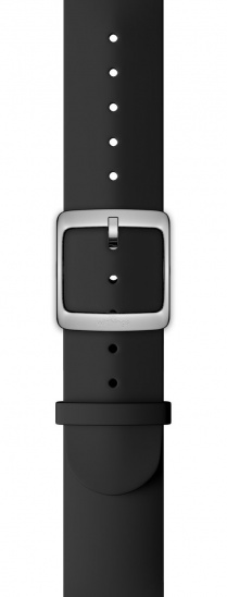 Withings Accessory Wristband for Steel HR 40mm, Stell HR Sport, Scanwatch 42mm - Black
