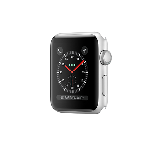 Apple Watch Series 3 GPS 38mm Silver Aluminium Case Only (Demo - Try On)