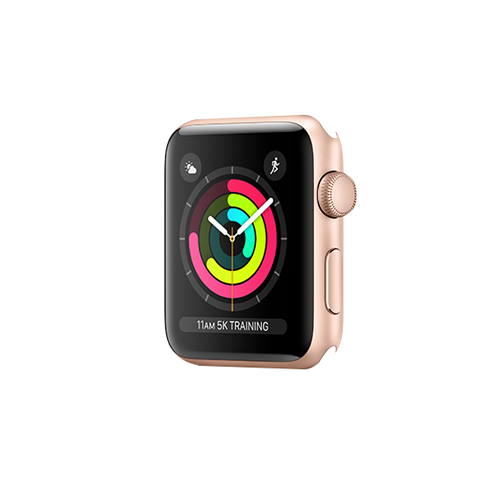 Apple Watch Series 3 GPS 38mm Gold Aluminium Case Only (Demo - Try On)
