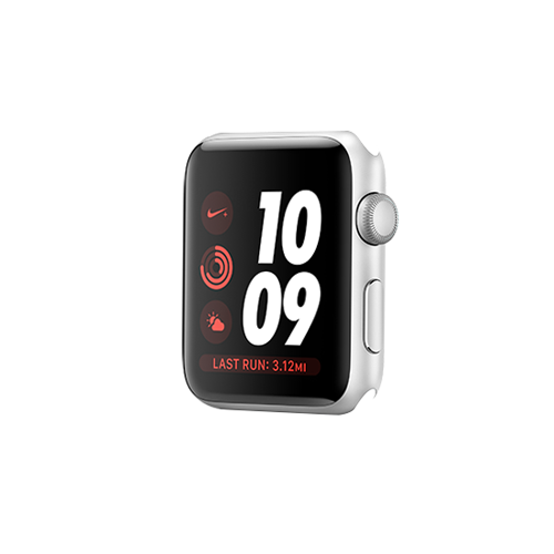 Apple Watch Nike+ GPS 38mm Silver Aluminium Case Only (Demo - Try On)