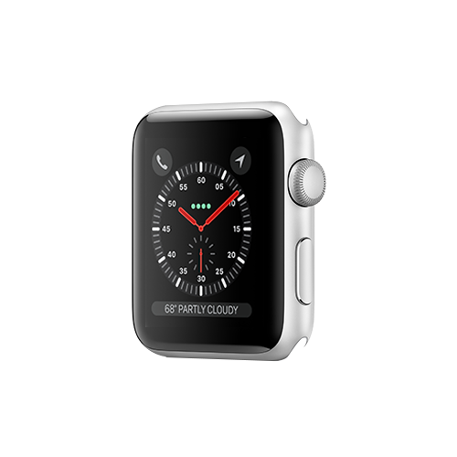 Apple Watch Series 3 GPS 42mm Silver Aluminium Case Only (Demo - Try On)