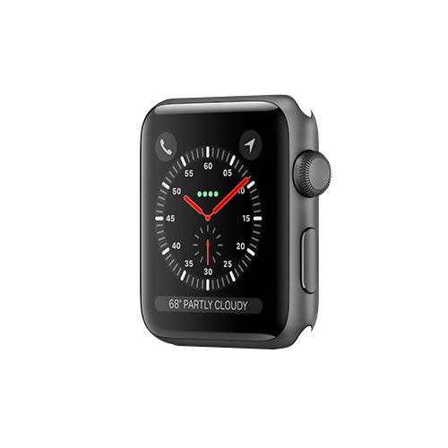 Apple Watch Series 3 GPS 42mm Space Grey Aluminium Case Only (Demo - Try On)