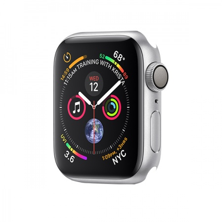 Apple Watch Series 4 GPS, 40mm Silver Aluminium Case Only (DEMO)