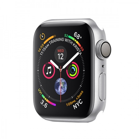 Apple Watch Series 4 GPS, 44mm Silver Aluminium Case Only (DEMO)
