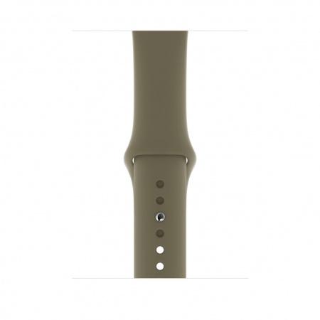 Apple Watch 44mm Band: Khaki Sport Band - S/M & M/L (DEMO) (Seasonal Winter2019)