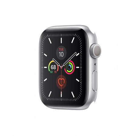 Apple Watch Series 5 GPS, 40mm Silver Aluminium Case Only (DEMO)