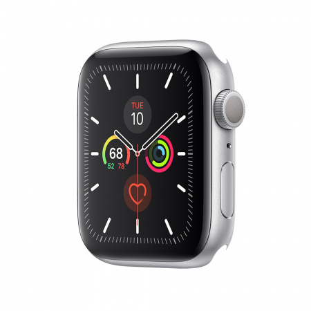 Apple Watch Series 5 GPS, 44mm Silver Aluminium Case Only (DEMO)