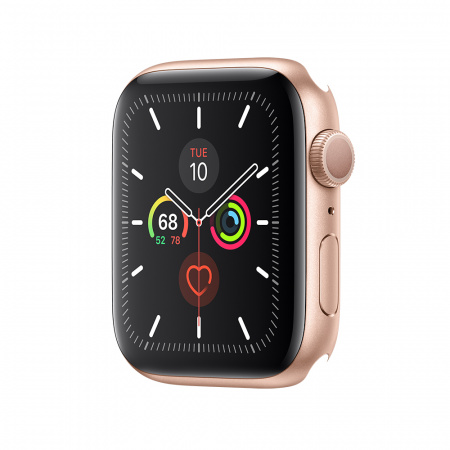Apple Watch Series 5 GPS, 44mm Gold Aluminium Case - Case Only (DEMO)
