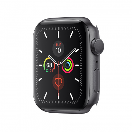 Apple Watch Series 5 GPS, 44mm Space Grey Aluminium Case Only (DEMO)