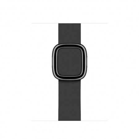 Apple Watch 40mm Band:  Black Modern Buckle - Medium (DEMO)