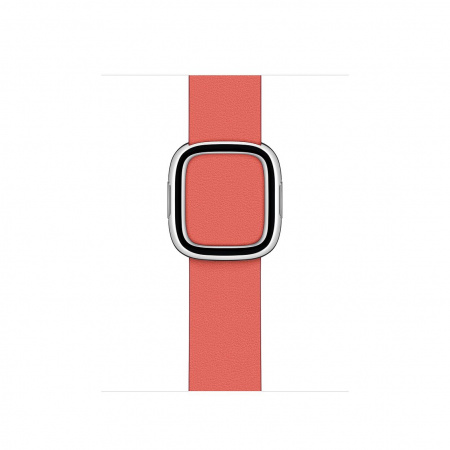 Apple Watch 40mm Band: Pink Citrus Modern Buckle - Large (DEMO) (Seasonal Fall 2020)
