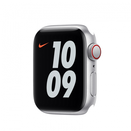 Apple Watch Nike SE GPS + Cellular, 40mm Silver Aluminium Case Only (DEMO)