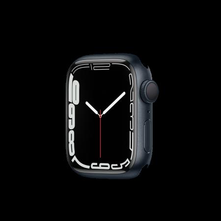 Apple Watch S7 GPS, 41mm Midnight Aluminium Case Only (DEMO)