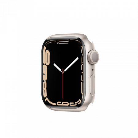 Apple Watch S7 GPS, 41mm Starlight Aluminium Case Only (DEMO)
