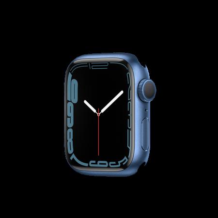 Apple Watch S7 GPS, 41mm Blue Aluminium Case Only (DEMO)