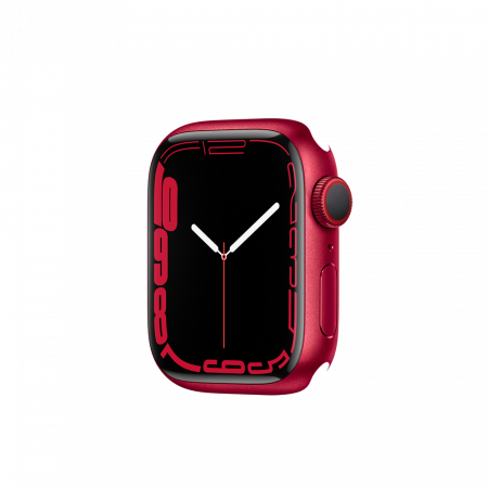 Apple Watch S7 GPS, 41mm (PRODUCT)RED Aluminium Case Only (DEMO)