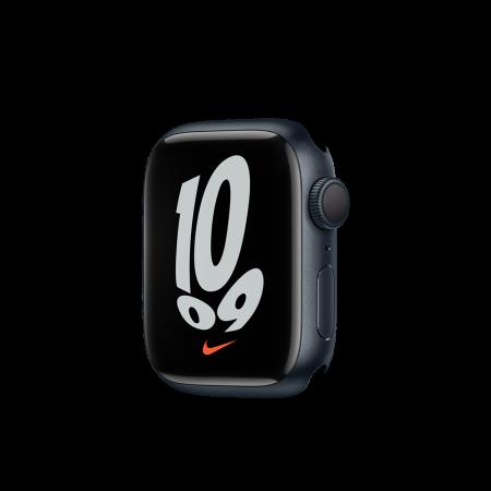 Apple Watch Nike S7 GPS, 41mm Midnight Aluminium Case Only (DEMO)
