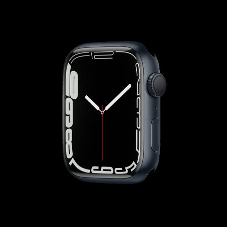 Apple Watch S7 GPS, 45mm Midnight Aluminium Case Only (DEMO)