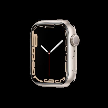 Apple Watch S7 GPS, 45mm Starlight Aluminium Case Only (DEMO)