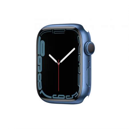 Apple Watch S7 GPS, 45mm Blue Aluminium Case Only (DEMO)